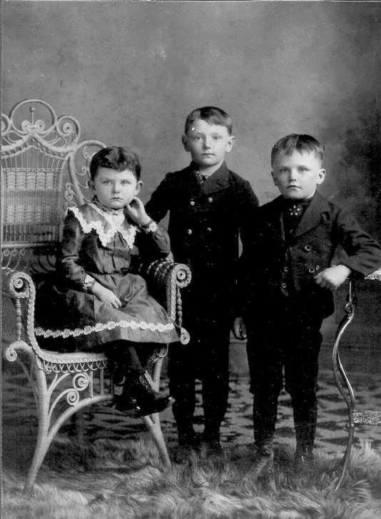 August Engert children