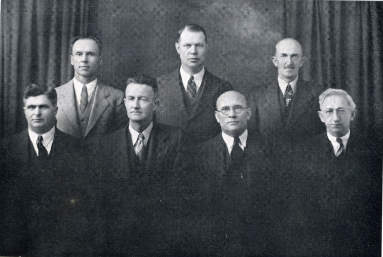 church officers 1939 X