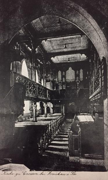 Crossen Zwickau church interior