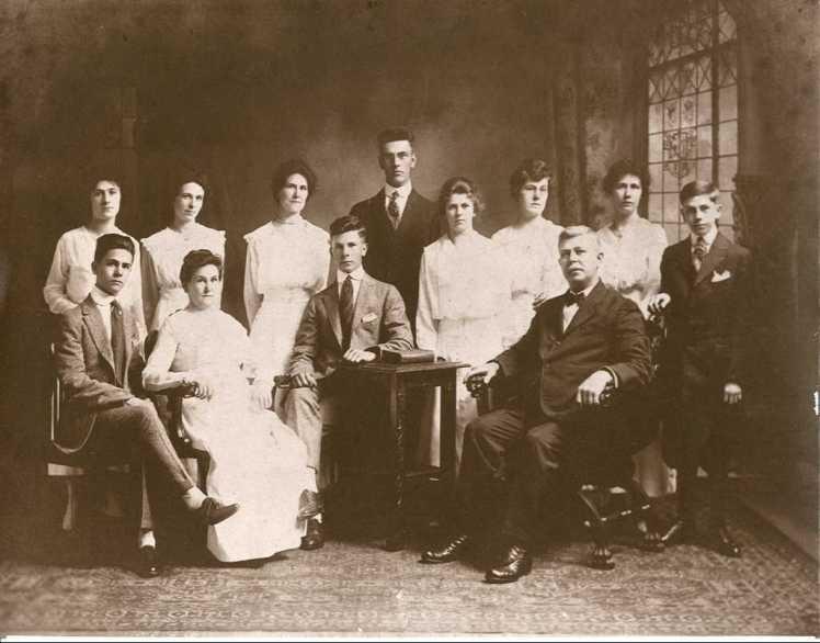 Gustav Lueders family