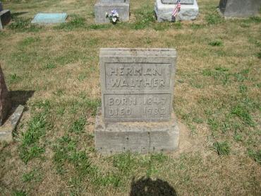 Herman Walther gravestone
