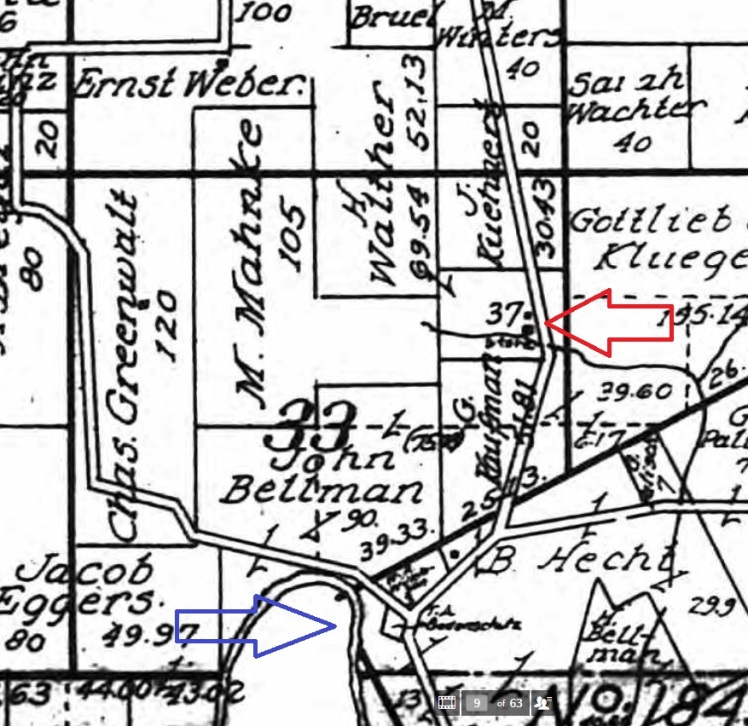 Herman Walther property map