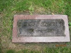 Hugo Schmidt gravestone Corvallis OR