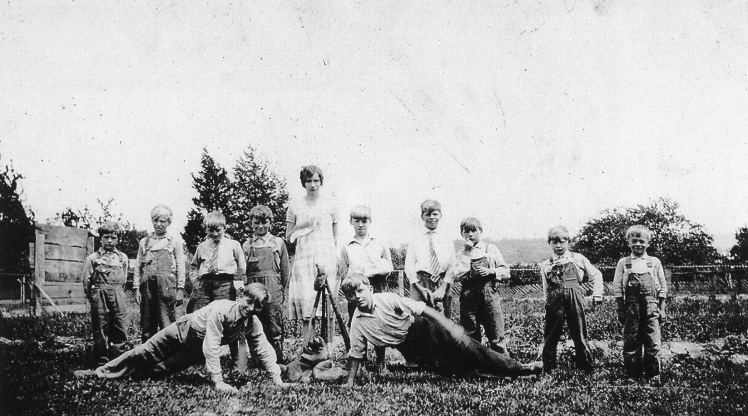 Immanuel ball team 1935