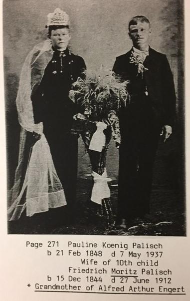 Moritz and Pauline Palisch