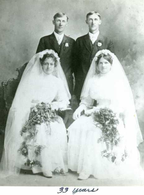 Schmidt twins wedding