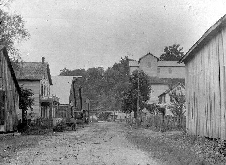 street near mill X
