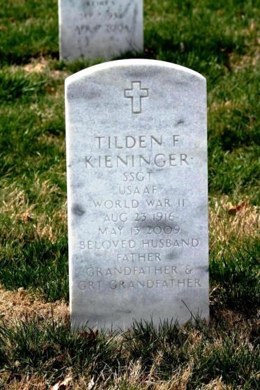 Tilden Kieninger gravestone