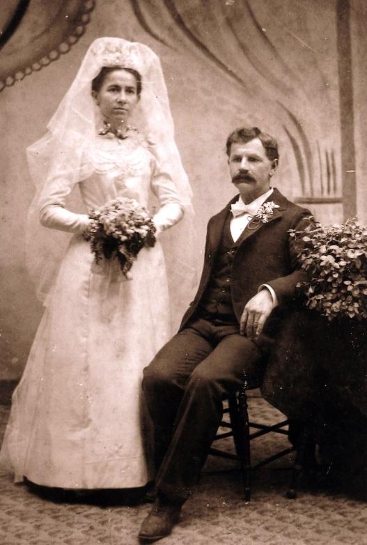 Bruno & Hulda Schade 1898