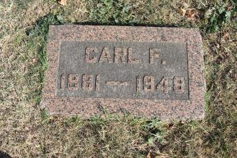 Carl Grother gravestone