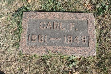 Carl Grother gravestone