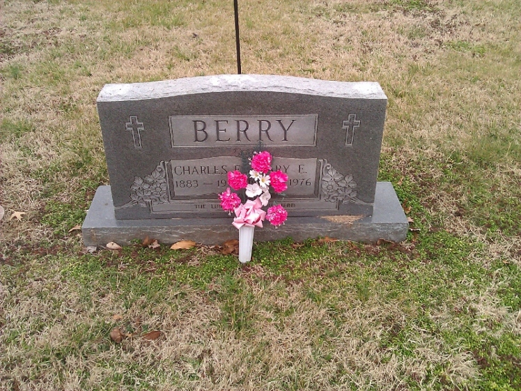 Charles and Mary Berry gravestone New Lorimar