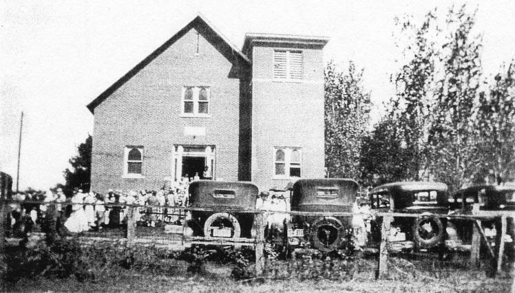 church 1920's members X