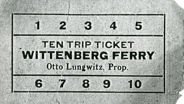 ferry ticket X