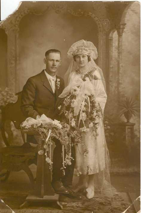 Fred and Ida Lichtenegger wedding