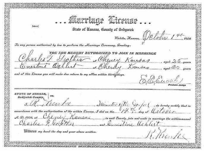marriage license in wichita kansas