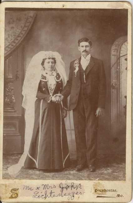 John Lichtenegger wedding