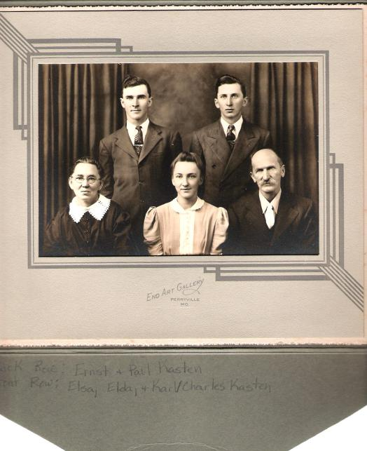 Karl and Elsa Kasten Family2