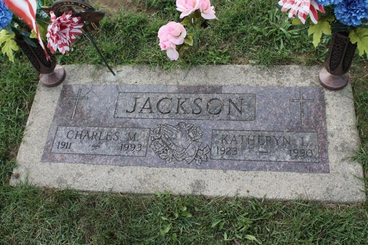 Katheryn Berry Jackson gravestone Indiana