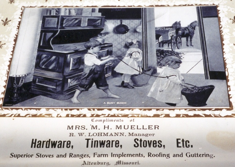 Mrs. Martin Mueller advertisement
