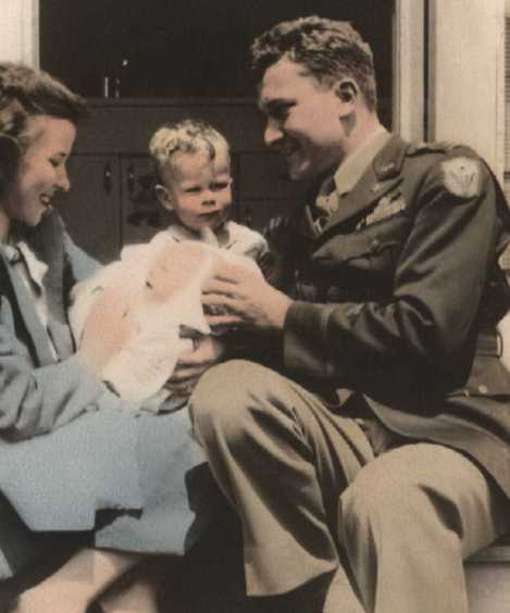 Ray and Helen Littge with children