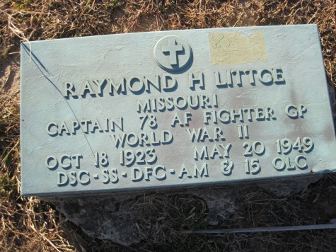 Raymond Littge grave marker Trinity