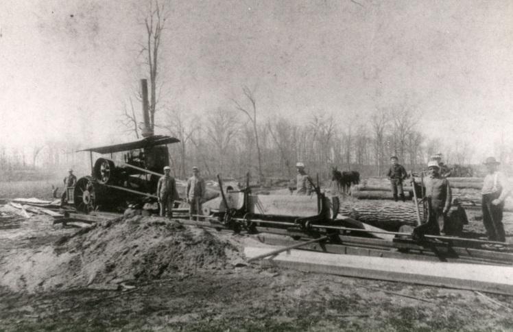 sawmill near Brazeau Creek X