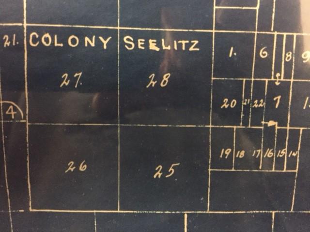 Seelitz Colony map