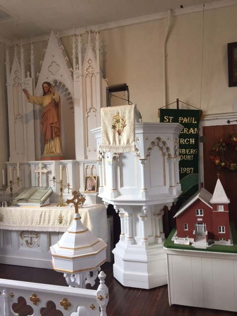 St. Paul's Lutheran Church exhibit museum
