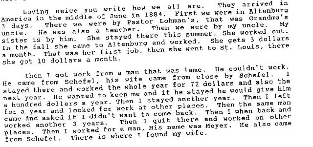 12. Henry Dreyer Letter - Page 1