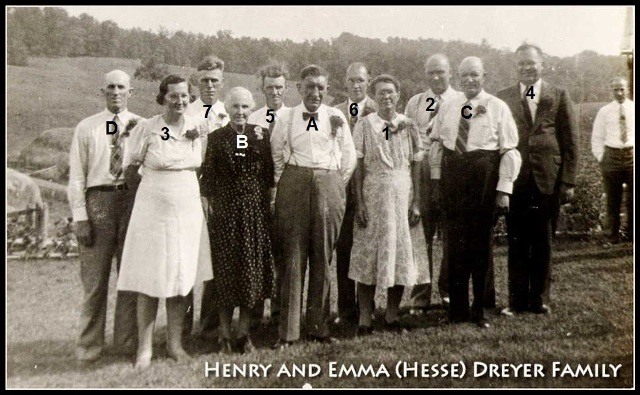 14. Henry and Emma Hesse Dreyer Family