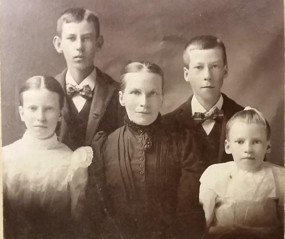 9. Katherine Elisabeth Hesse Winter Family