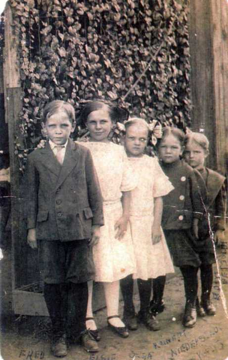 Albert Niederstadt children