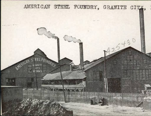 American Steel Foundry Granite City