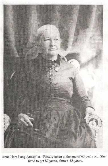 Anna Harz Lang Amschler