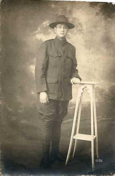 Arthur Kasten WWI