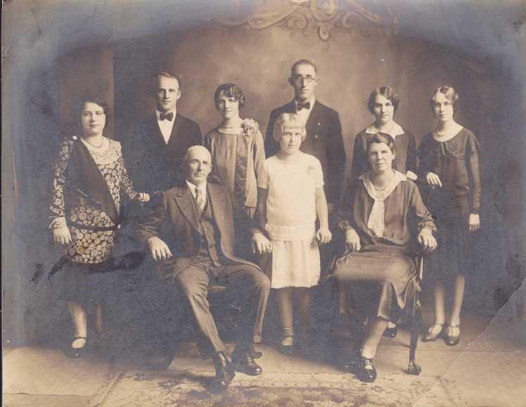 Benjamin Schaefer family