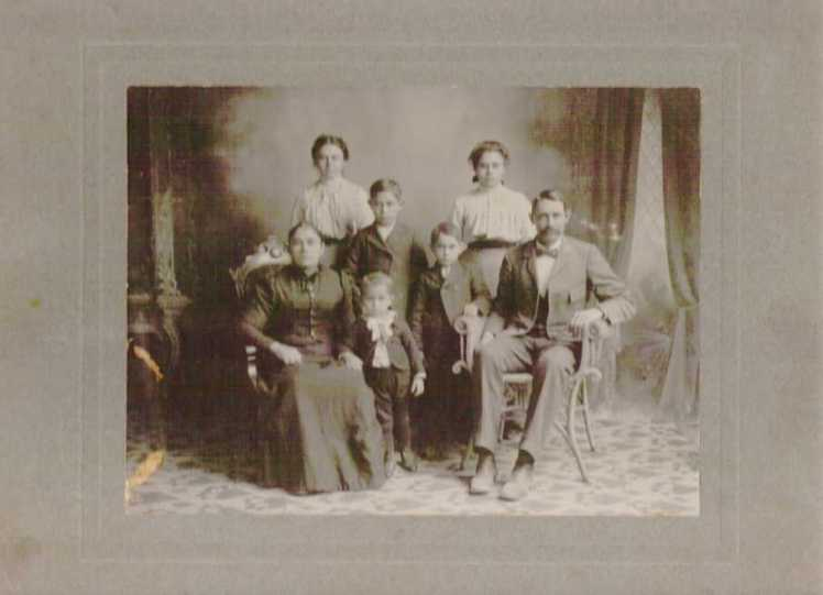 Edward Gross family