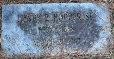 Henry Hopper gravestone Baton Rouge LA
