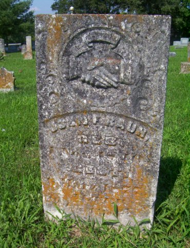John F. Rauh gravestone