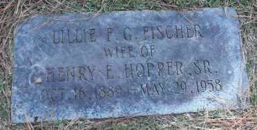 Lillie Hopper gravestone Baton Rouge LA