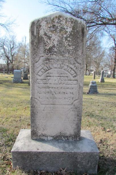 Maria Kleppisch gravestone Concordia St. Louis