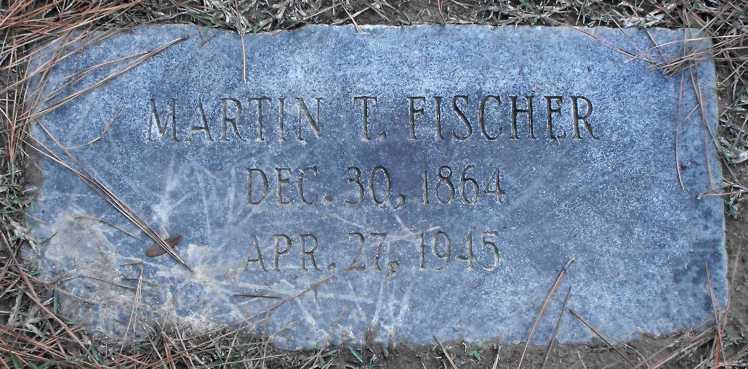 Martin Fischer gravestone Baton Rouge LA