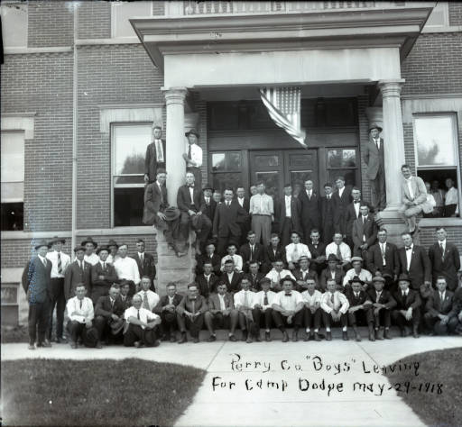 Perry County boys Camp Dodge IA