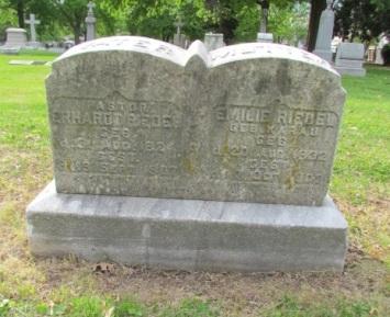 Rev. Erhard Riedel gravestone Concordia St. Louis