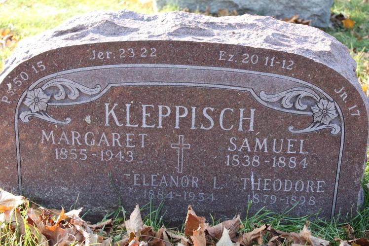 Samuel Kleppisch gravestone