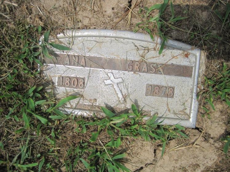 Anne Grass gravestone Concordia Frohna