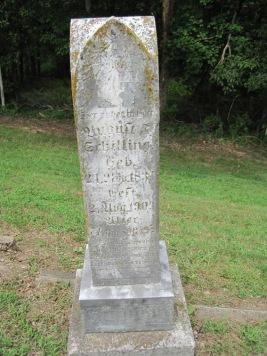 August Schilling gravestone Concordia