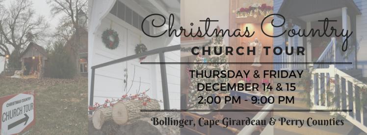 Christmas Country Church Tour 2017