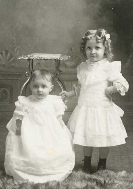 Ella and Flora Oswald